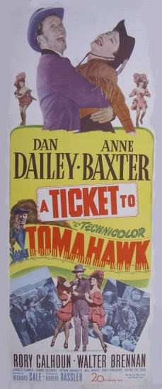atickettotomahawk Richard Sale   A Ticket to Tomahawk (1950)