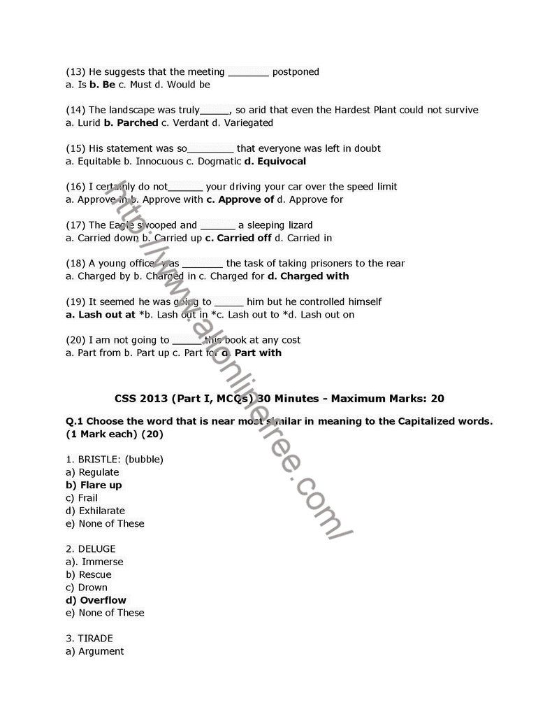 css past papers of english essay 2009 Get css english notes for preparation 2018 we are detailed guiding regarding english essay, tips, procedure to pass css exam 2018 english essay writing.