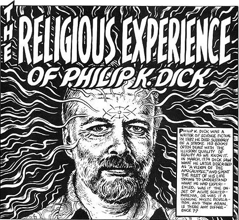 dickcrumb Robert Crumb   The religious experience of Philip k. Dick (1986)