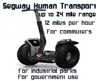 segway human transport