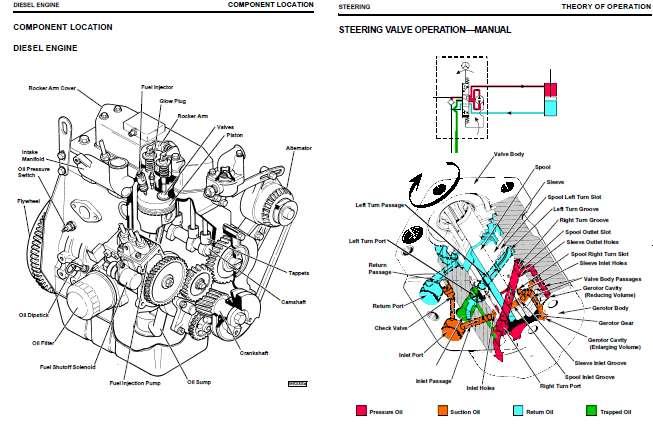 john deere 445 kawasaki engine