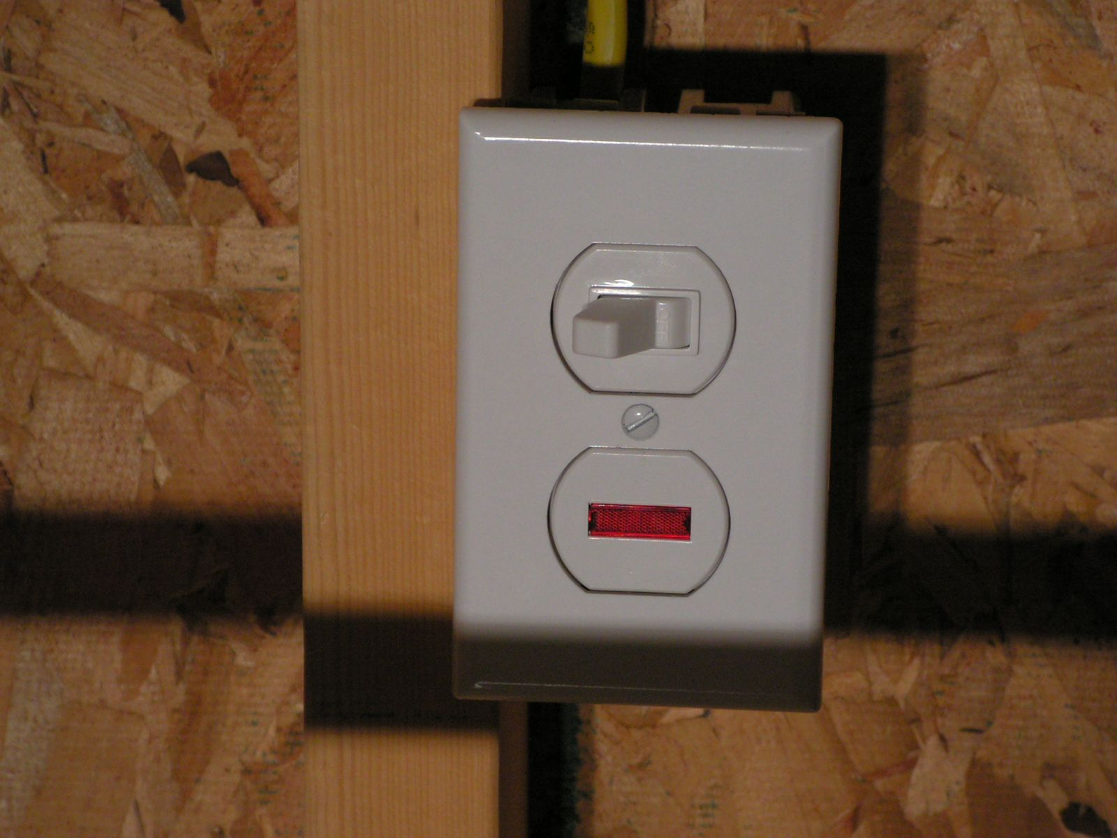 My Mr Heater Bigg Maxx Install The Garage Journal Board Ac T Stat Wiring Next I Installed A Twist Lock Receptacle In Ceiling Also