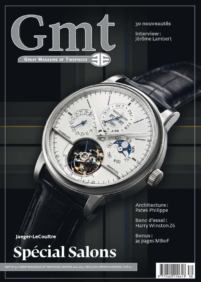 GMT 30 - Hiver-Winter 2012-2013