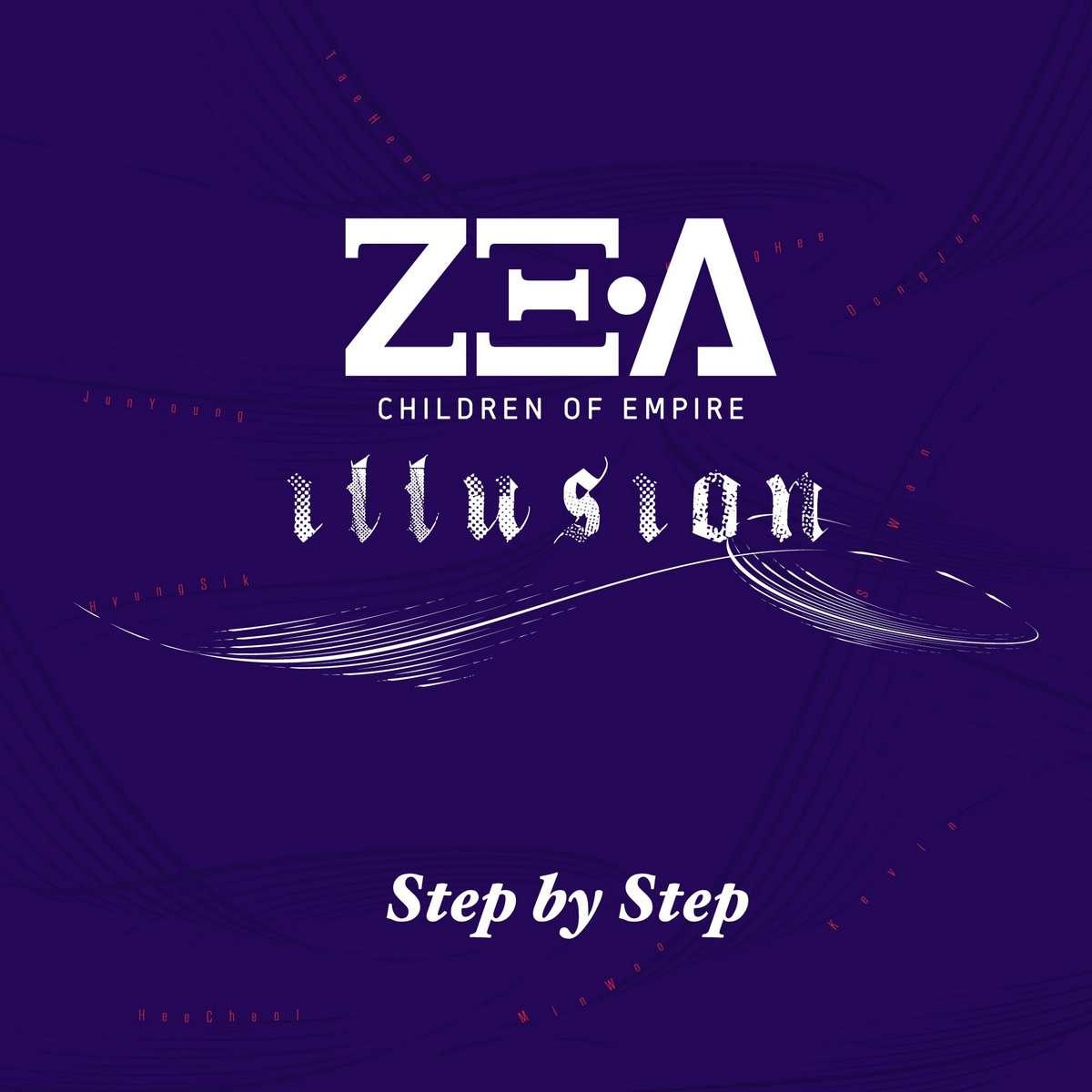 [Single] ZE:A - Step By Step (MP3)