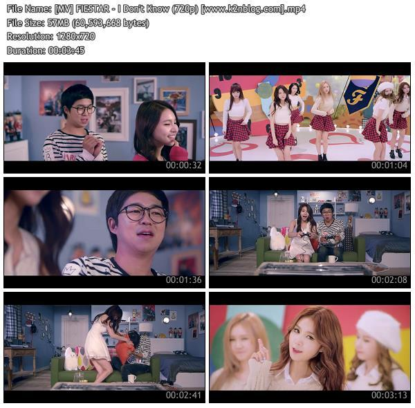 (MV) FIESTAR - I Don't Know (HD 720p Youtube)