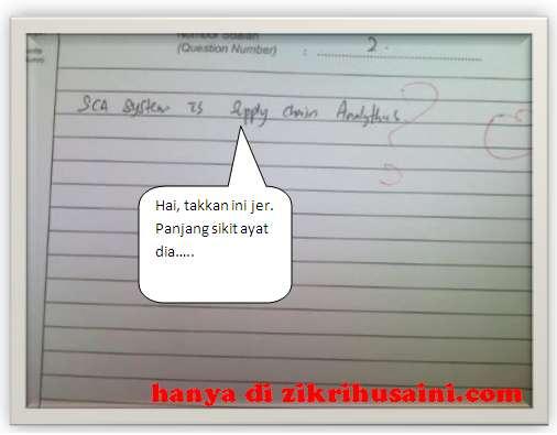 paper, kertas putih, kertas kosong, gambar jawapan exam, blank paper when exam, exam tips, tips menghadapi peperiksaan, jangan biarkan kosong di kertas jawapan
