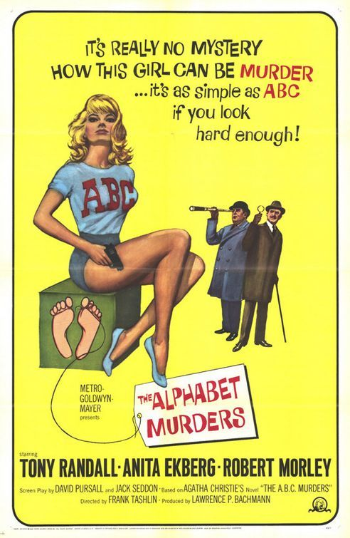 alphabetmurdersws0 Frank Tashlin – The Alphabet Murders (1965)