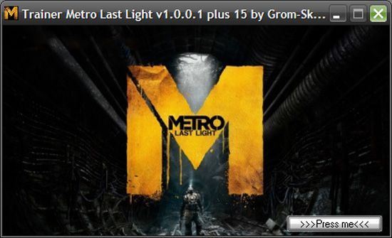 trainermetrolastlightv1 Metro: Last Light 1.0.0.1 +15 Trainer