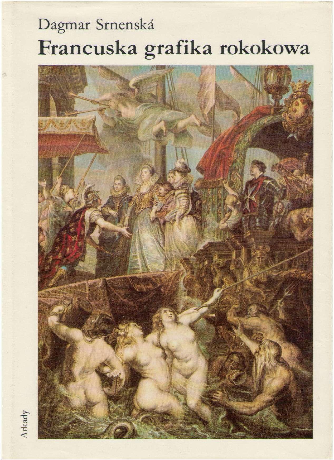 Francuska Grafika Rokokowa (Polish Edition), Dagmar Srnenska